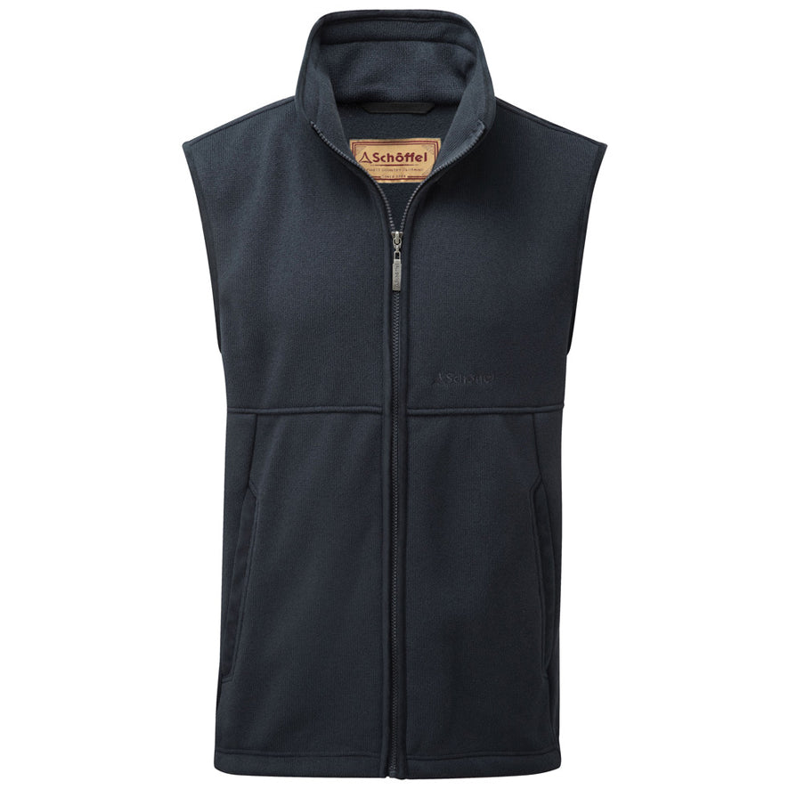 Schoffel Fulham Fleece Gilet - Navy