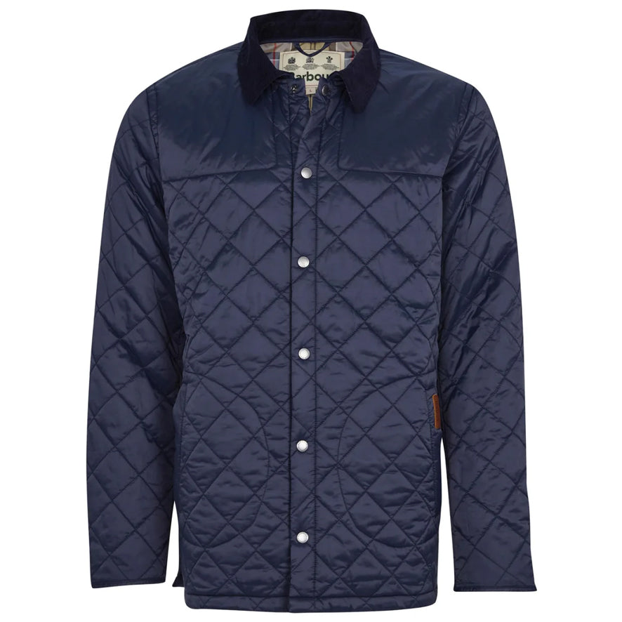 Barbour Mens Thornhill Quilted Jacket - Navy