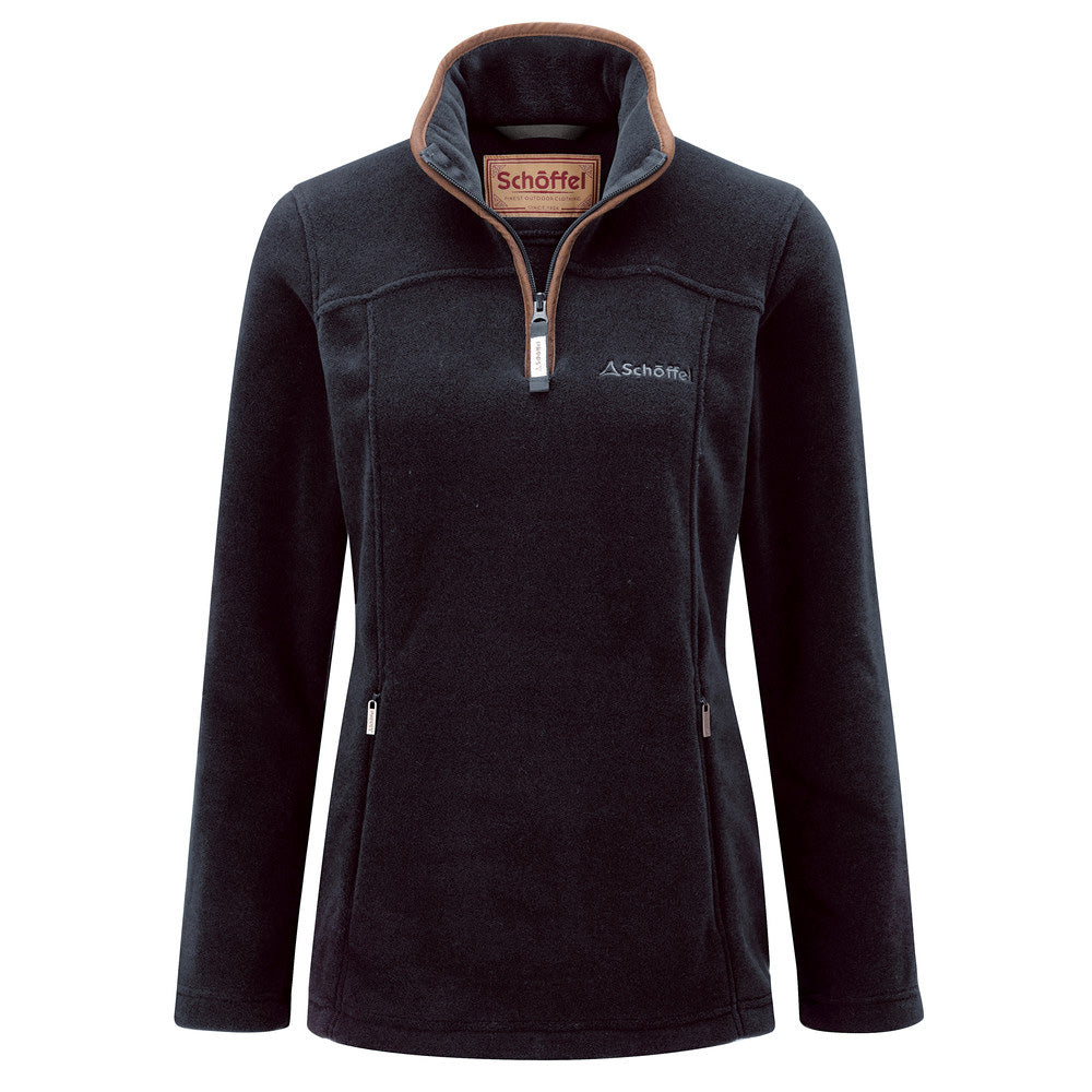 Schoffel Tilton 1/4 Zip Fleece - Slate Blue
