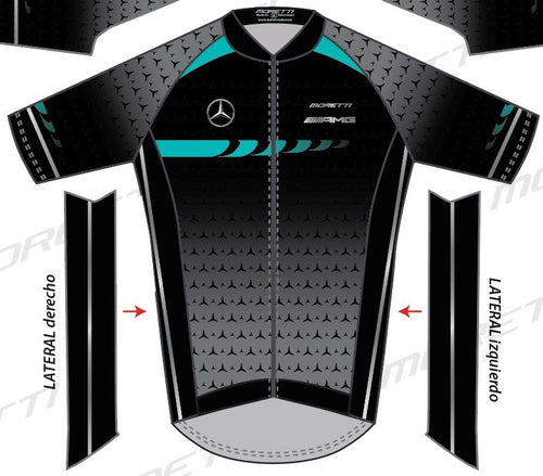 Men's Cycling Pro Race Cut Jersey