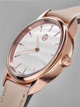 Load image into Gallery viewer, Mother of Pearl Rose Gold Watch