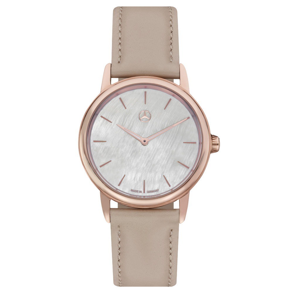 Mother of Pearl Rose Gold Watch