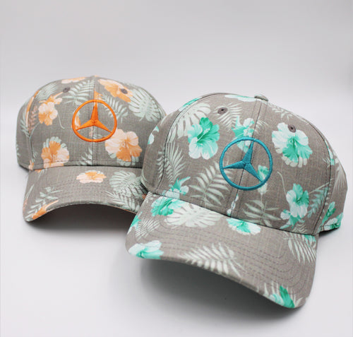 Tropical Print Hat