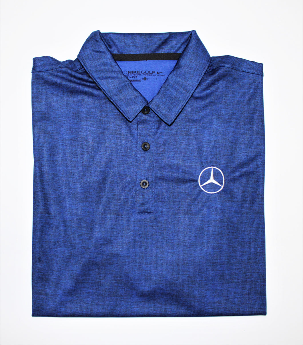 Men's Nike Crosshatch Polo