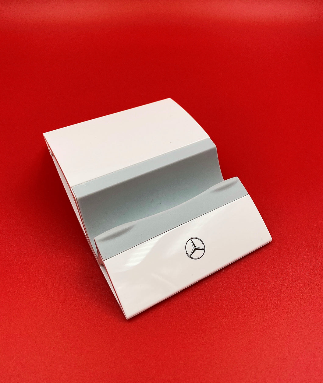Mercedes-Benz Glossy White Tablet & iPhone stand