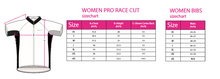 Load image into Gallery viewer, Ladies Cycling Pro Race Cut Bib