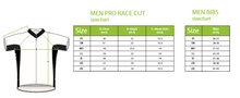 Load image into Gallery viewer, Men's Cycling Pro Race Cut Bib