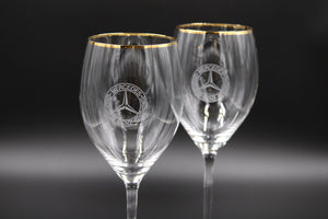 Classic Stemmed Red Wine Glasses