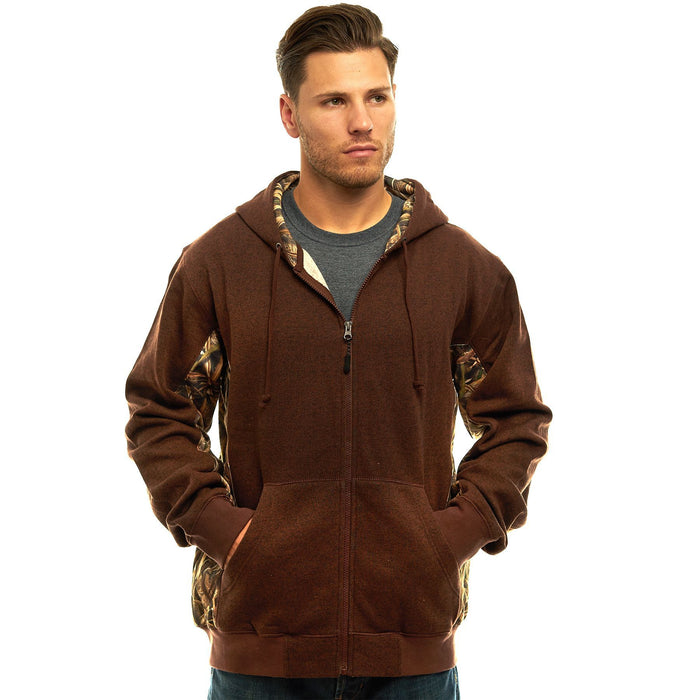 Men'a Cambrillo Hooded Sweatshirt Shadow Grass Blades Camo