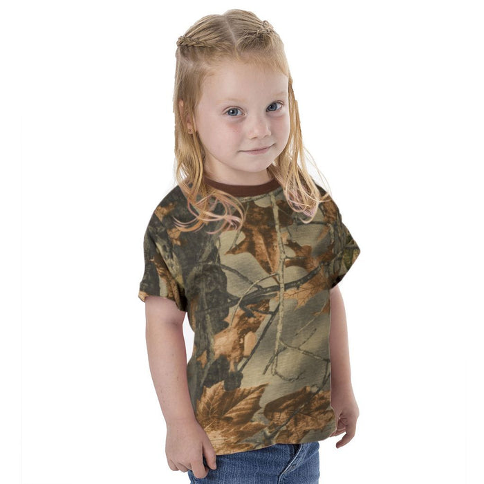 Infant - Toddler Short Sleeve Cotton Blend T-Shirt Highland Timber Camo