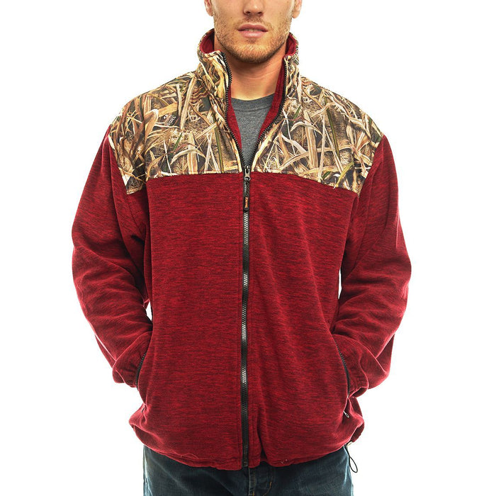Men's Mossy Oak C-Max Jacket Shadow Grass Blades Camo