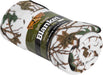 Floral Camo Plush Fleece Sherpa Roll Blanket