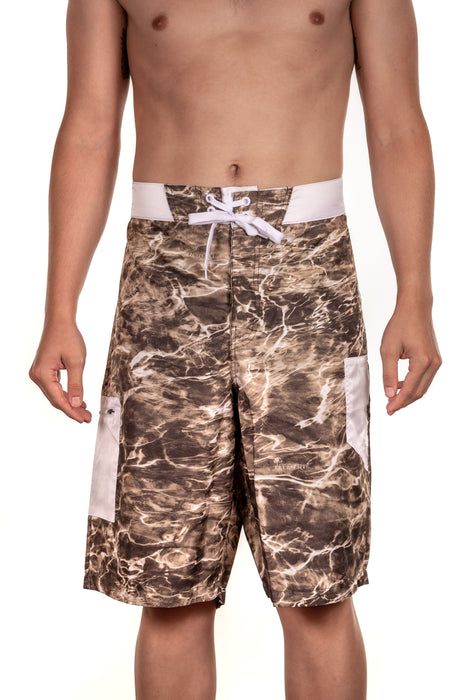 Men's Mossy Oak Elements Fishing Board Shorts
