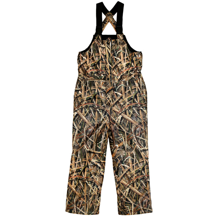 Kid's Mossy Oak Evolton Insulated Bib Overall Shadow Grass Blades