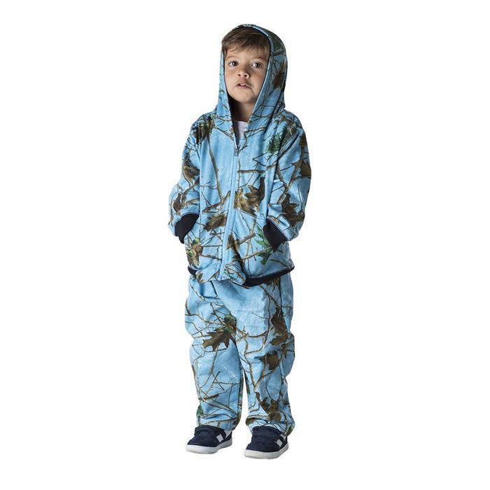 Infant - Toddler Cotton Hooded Jacket and Pants Set Sky Forest Camo