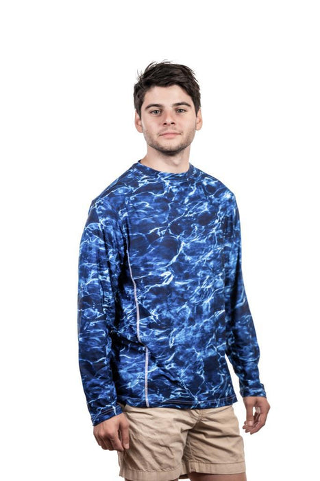 Men's Mossy Oak Elements Long Sleeve Fishing T-Shirt