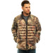 Men's Mossy Oak Down Puffer Jacket Break-Up Country Camo