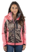 Women's Mossy Oak Soft Shell Jacket Break-Up Country Camo