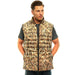 Men's Mossy Oak Down Puffer Vest Shadow Grass Blades Camo