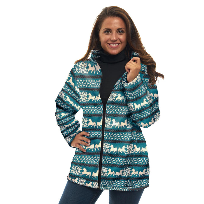 Women's Nordic Animal Sweater Jacket