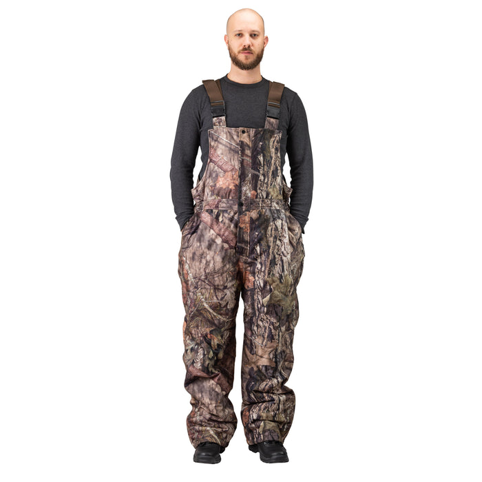 Men's Mossy Oak Evolton Insulated Bib Overall Breakup Country Camo