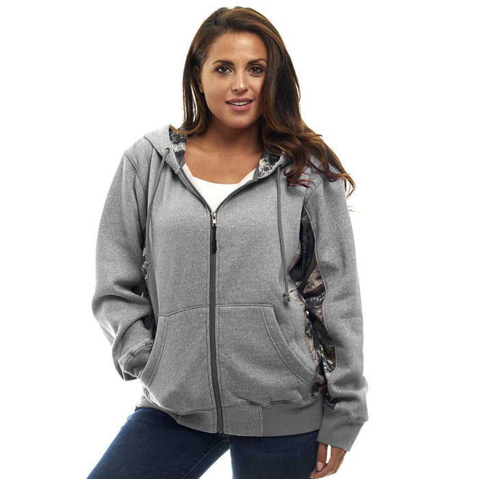 Women's Mossy Oak Cambrillo Hoodie Mountain Country Camo