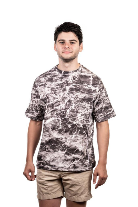 Men's Mossy Oak Elements Short Sleeve Fishing T-Shirt