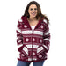 Women's Plush Nordic Sherpa Lined Jacket