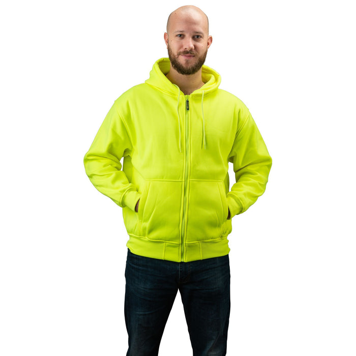 Men's Double Fleece Full Zip Blaze Hoodie
