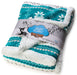 Nordic Plush Fleece Sherpa Baby Blanket