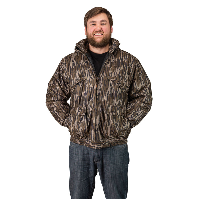 Men's Mossy Oak Evolton Insulated Tanker Jacket Old Bottomland Camo