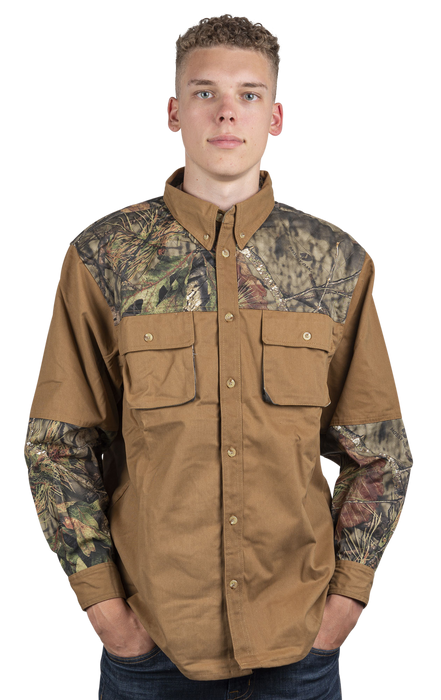 Men's Mossy Oak Shooting Shirt Break-Up Country Camo