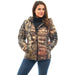 Women's Mossy Oak Down Puffer Jacket Break-Up Country Camo