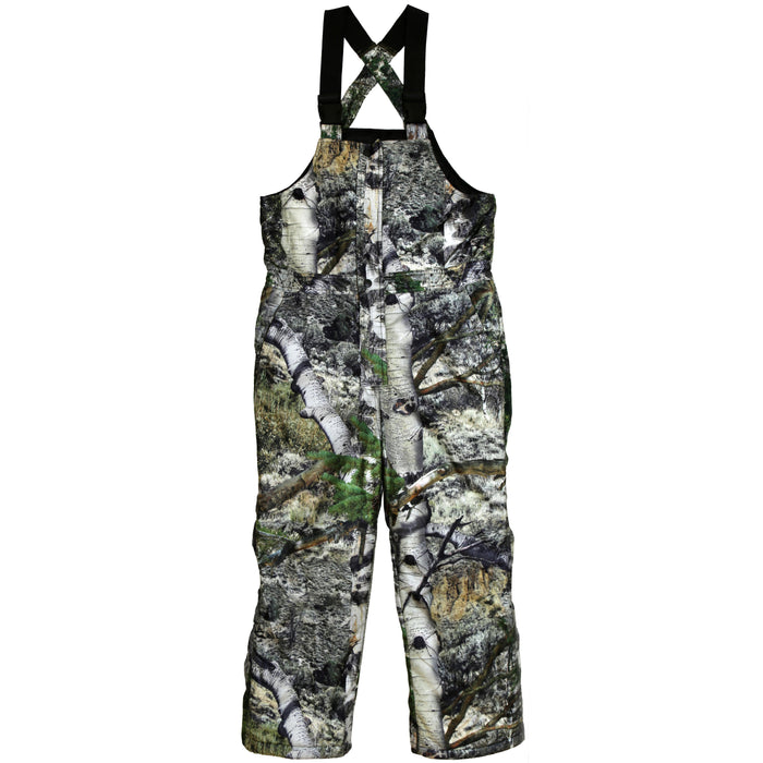 Kid's Mossy Oak Evolton Insulated Bib Overall Mountain Country