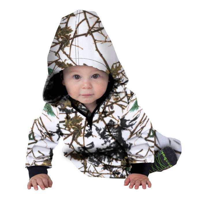 Infant-Toddler Evolton Insulated Snowsuit Sky Forest Camo