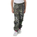 Kids Mossy Oak Cargo Hunting Pants Mountaion Country