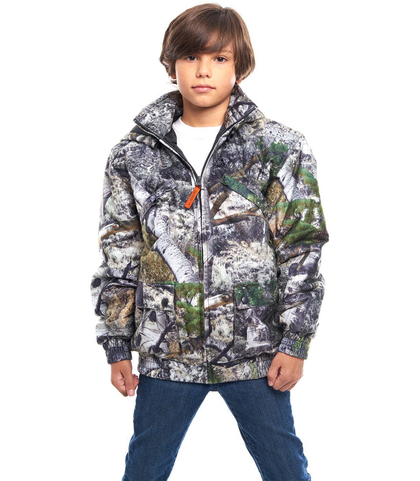 Kid's Mossy Oak Evolton Insulated Tanker Jacket Mountain Country