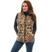 Women's Mossy Oak Down Puffer Vest Shadow Grass Blades Camo
