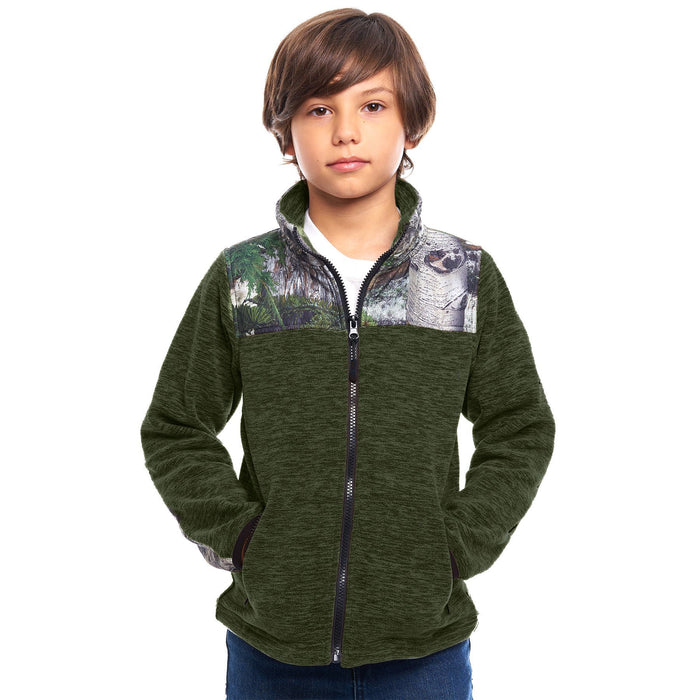 Kid's Mossy Oak C-Max Jacket Mountain Country Camo