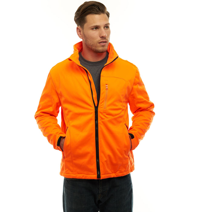 Men's Custom XRG Soft Shell Jacket Blaze Orange