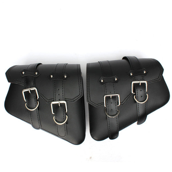 A Pair of Universal Motorcycle Saddlebags Pouch