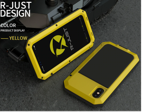 Heavy Duty Metal Aluminum Protection Cell Phone Case for iPhones