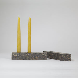 Candle Holder | made from recycled paper pulp