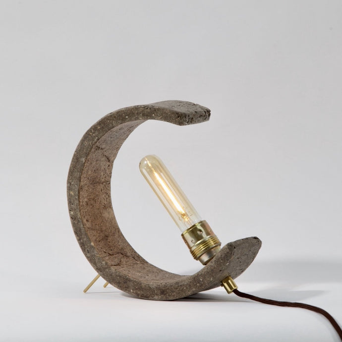 Manureality Table Lamp | made from horse manure - THE HOME OF SUSTAINABLE THINGS