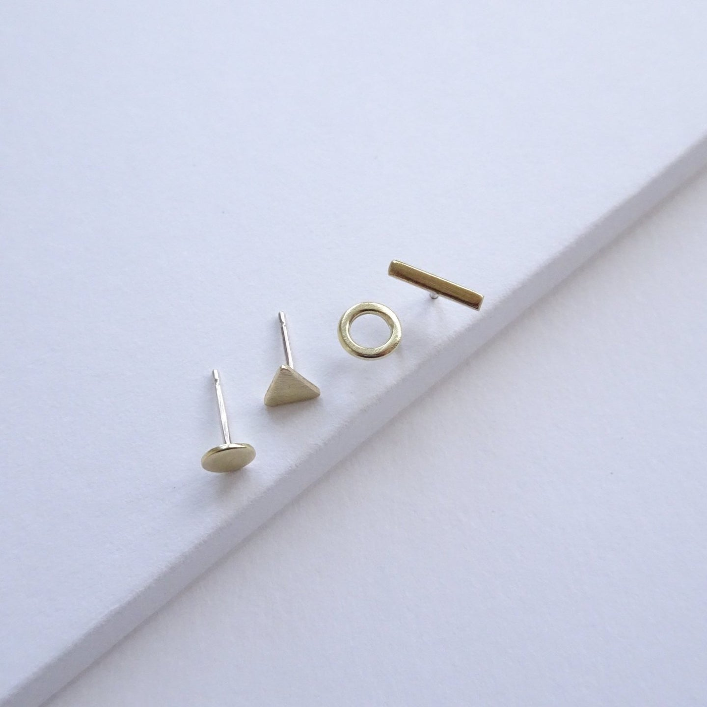 Mix And Match Geometric Studs - THE HOME OF SUSTAINABLE THINGS