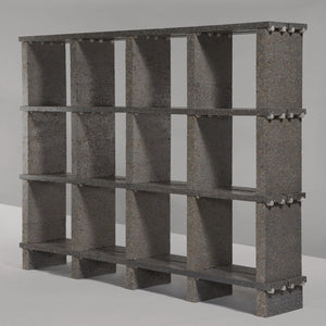 Modular Shelving Unit | made from recycled paper pulp - THE HOME OF SUSTAINABLE THINGS