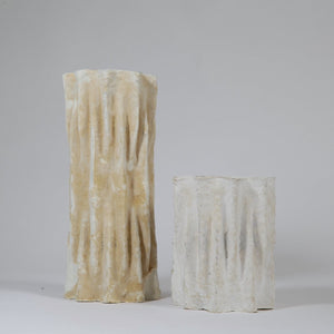 Myceliated Vase L | made from used takeaway cups - THE HOME OF SUSTAINABLE THINGS