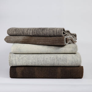 Pure Sheepwool Throw | 100% hand-washed - THE HOME OF SUSTAINABLE THINGS