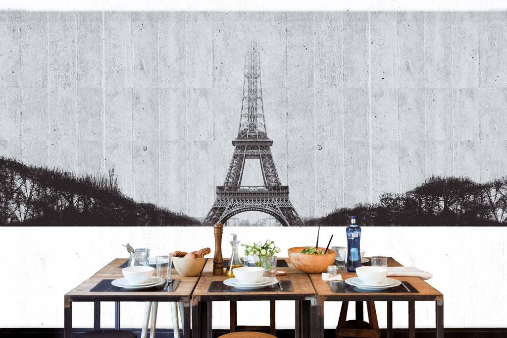 Tres Tintas Paris Wallpaper