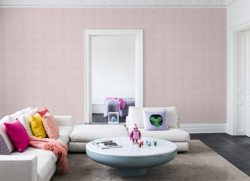 Perfect Fit Powder Pink wallpaper